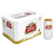 Stella Artois Beer Delivery - X4 Pack - Alcohol Delivery