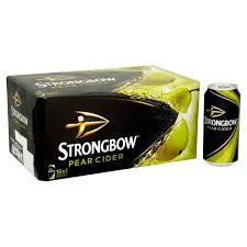 Strongbow Pear Cider Delivery - X12 Pack - Alcohol Delivery