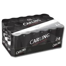 Carling Black Label Beer Delivery - X4 Pack - Alcohol Delivery