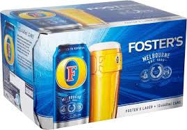 Fosters Beer Delivery - X12 Pack - Alcohol Delivery