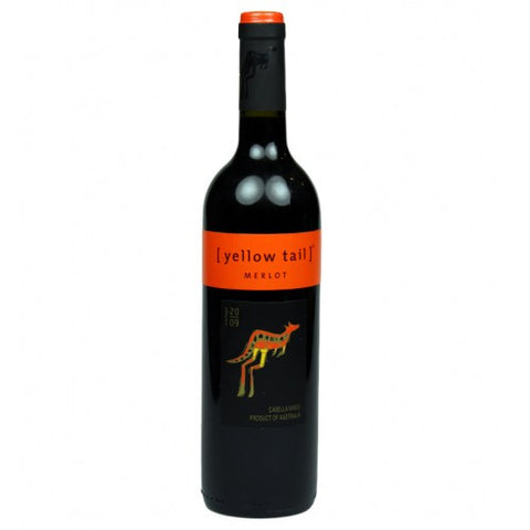 Yellow Tail Merlot Red Wine Delivery - 75cl - Alcohol Delivery
