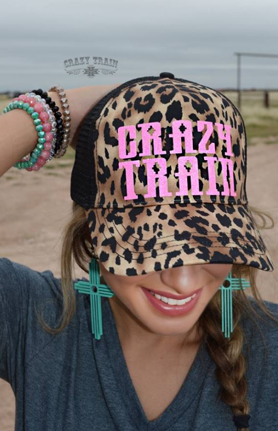 Leopard Crazy Train Cap