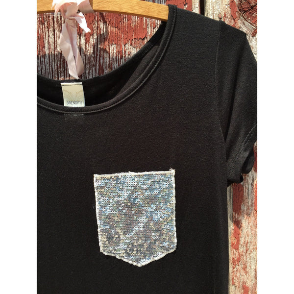 Sequin Pocket Shirt - Ropes and Rhinestones