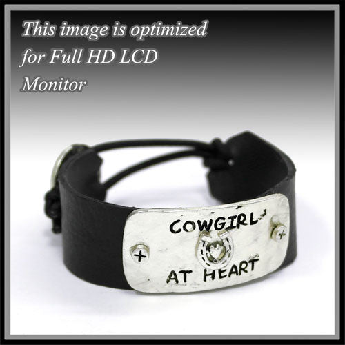 Cowgirl At Heart Bracelet - Ropes and Rhinestones