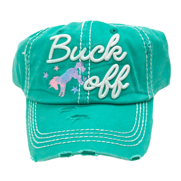Buck Off Cap - Ropes and Rhinestones