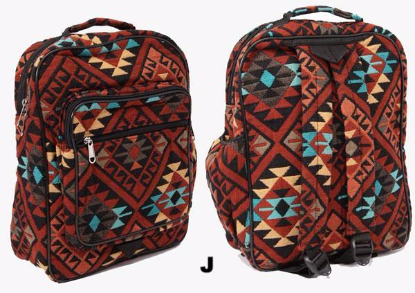 Aztec Backpack - Ropes and Rhinestones