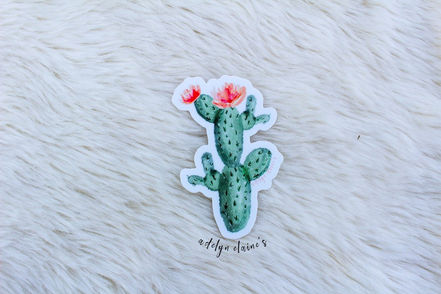 Ramblin Cactus Sticker