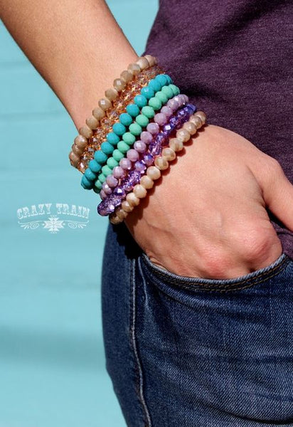 Big Risk Bracelet Collection - Ropes and Rhinestones