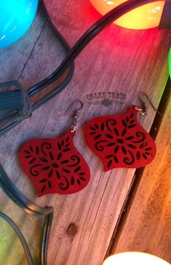 dazzle dangle earrings ropes and rhinestones