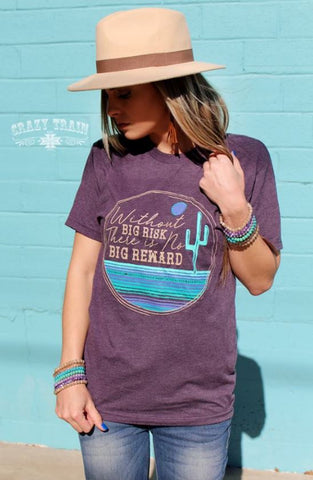 Big Risk Tee - Ropes and Rhinestones