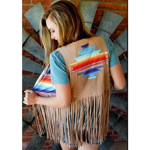Desert Days Vest - Ropes and Rhinestones