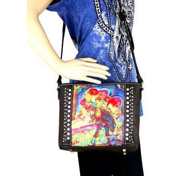 Janene Grende Bronc Handbag - Ropes and Rhinestones