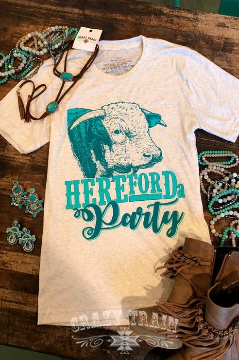 HereFORda Party Tee