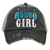 Rodeo Girl Cap - Ropes and Rhinestones