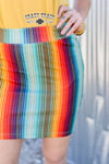 Cattle Kate Serape Skirt
