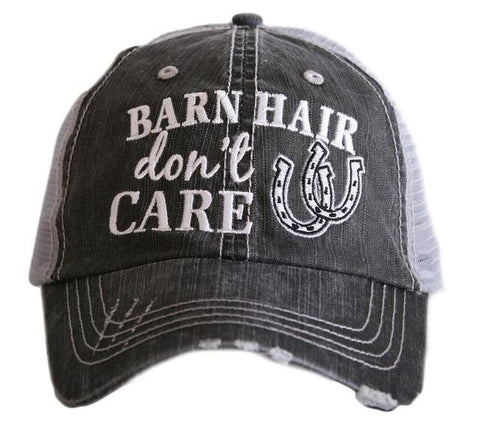Barn Hair Don't Care Cap - Ropes and Rhinestones