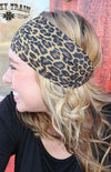 Lazy Leopard Headband