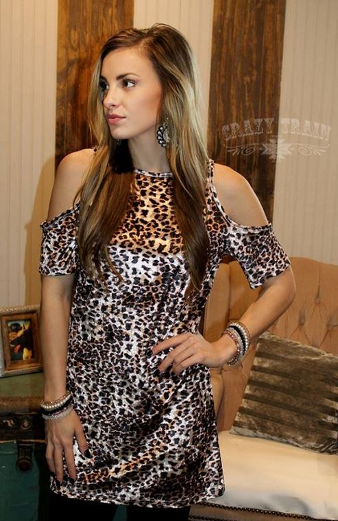 Lucky Lu Leopard Top
