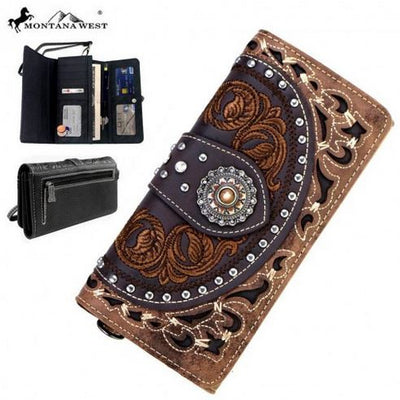 Concho Collection Wallet - Ropes and Rhinestones