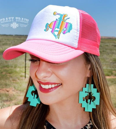 Bucking Horse Cap - Ropes and Rhinestones