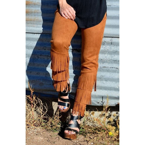 Fringe Forever Pants - Ropes and Rhinestones