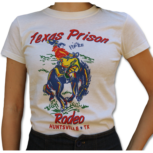 Texas Prison Rodeo Tee - Ropes and Rhinestones