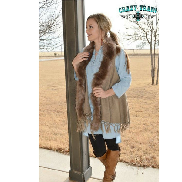 Coyote Creek Fur Vest