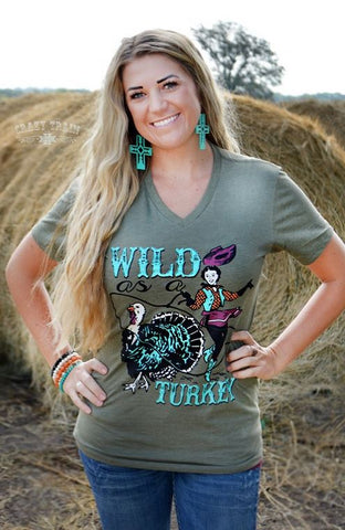 Wild As A Turkey Tee