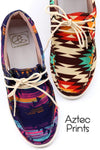Aztec Casual Tie Shoes