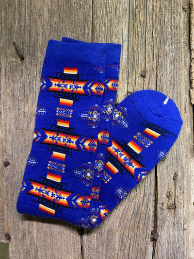 Aztec socks - Ropes and Rhinestones