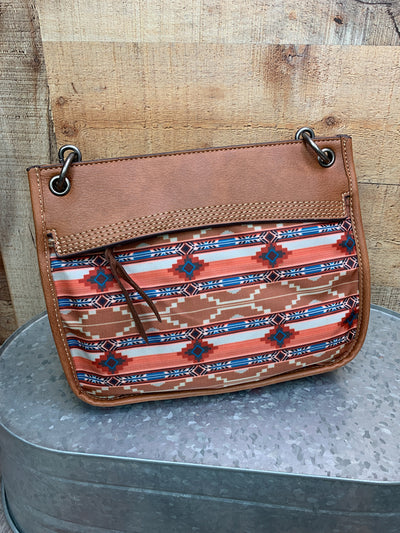 Aztec Sand Cross Body Purse