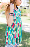 Thirsty Thursday Serape Aztec Tank Top