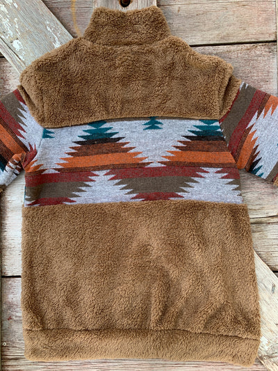 New Mexico Sunset Aztec Pullover