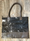 Big Business Cowhide Tote - Ropes and Rhinestones