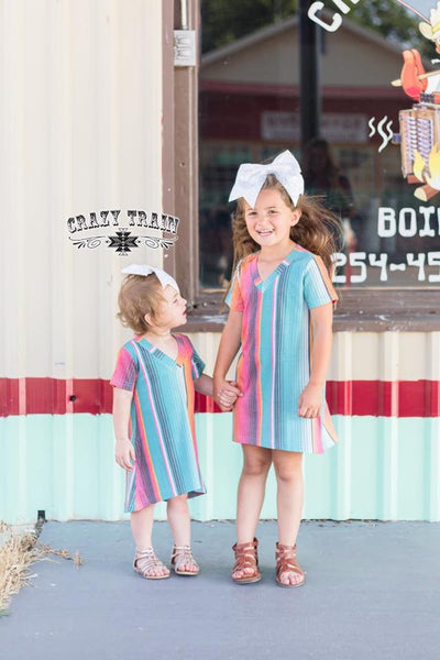 Sabado Serape Kids Dress