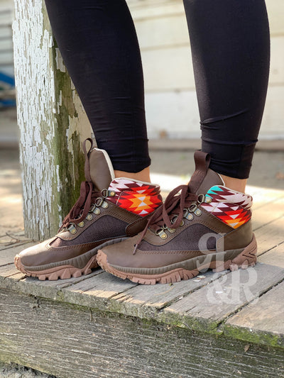 Aztec Ankle Hiking Boot