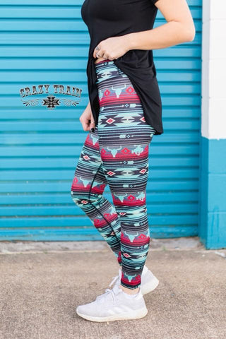 Cowboy Crossfit Leggings