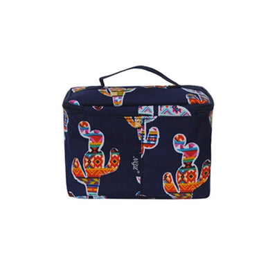 Colorful Cactus cosmetic case
