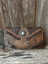 Studded Concho Purse or Wallet