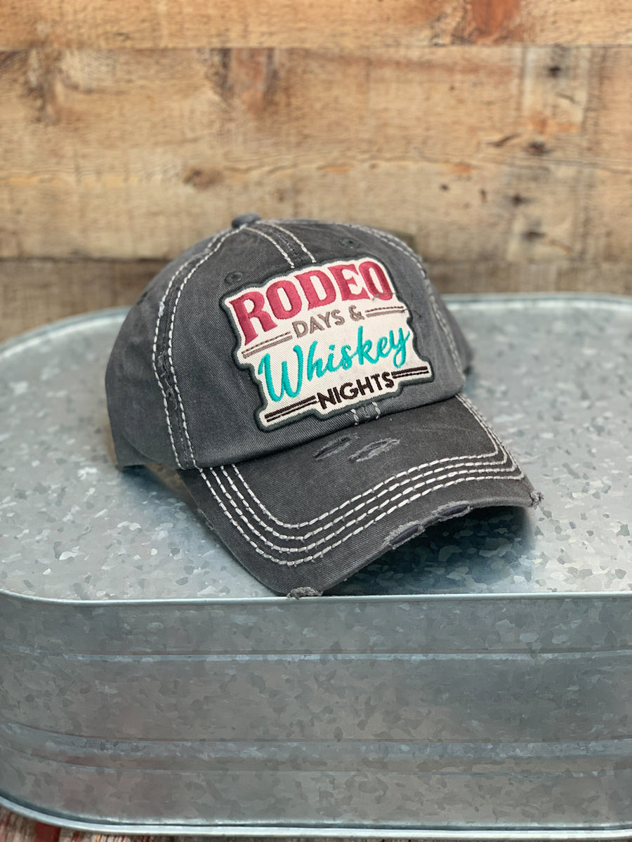 Rodeo Days Whiskey Nights Cap