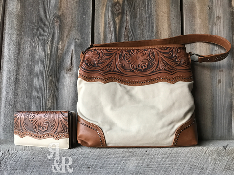 Cowboy Canvas Purse or Wallet