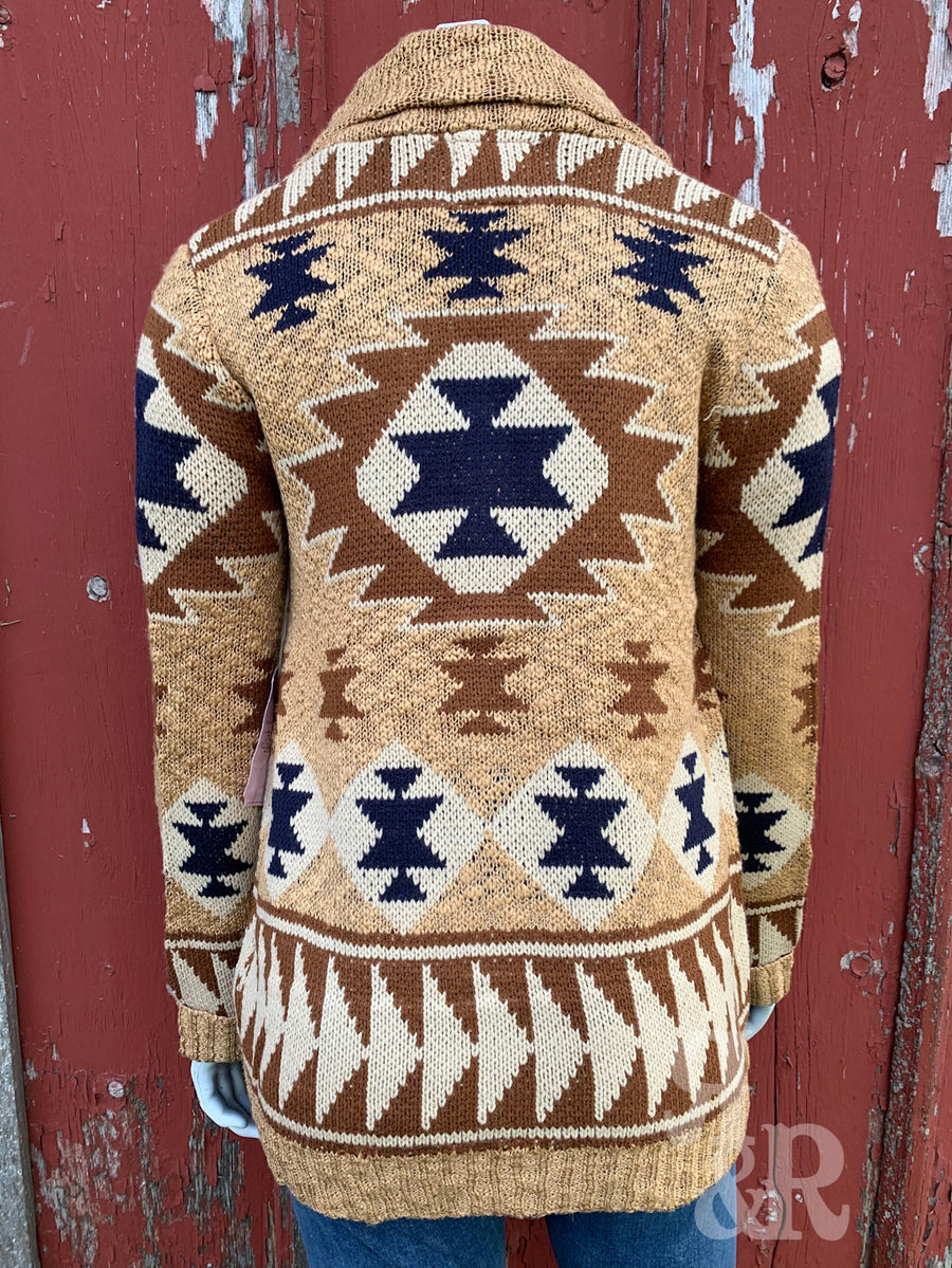 Aztec Cardigan Sweater