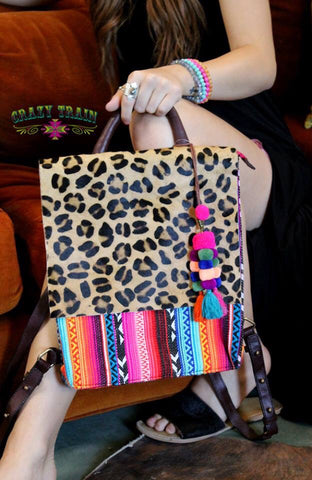 Bonita Serape Backpack - Ropes and Rhinestones