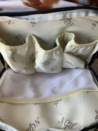Cow Print Travel/Diaper Bag