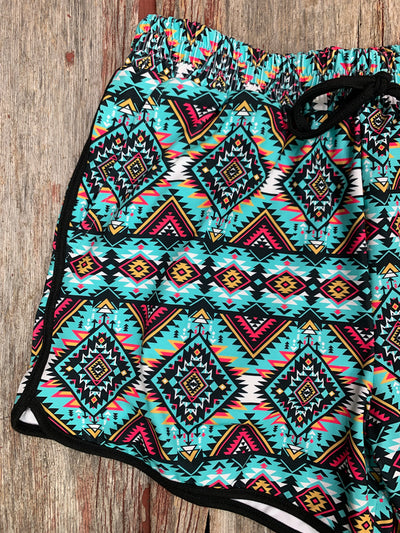 Aztec Angel Shorts