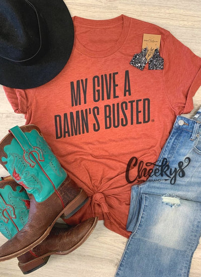 My Give A Damn's Busted Tee