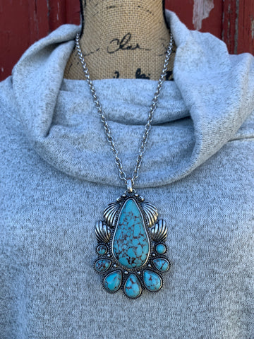 Turquoise Tribe Necklace Set