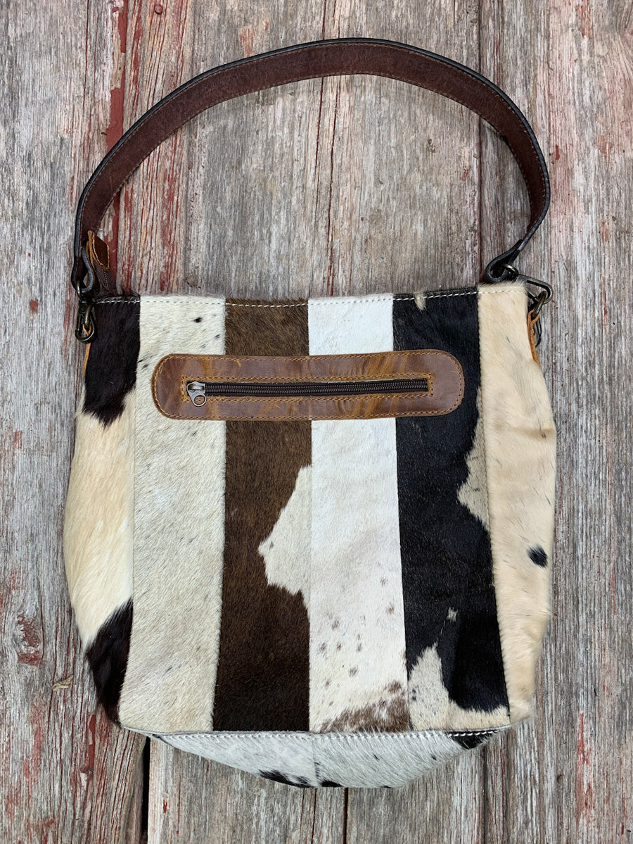 Cowhide Quilt Leather Purse