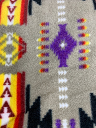 Aztec Fleece Lodge Blanket