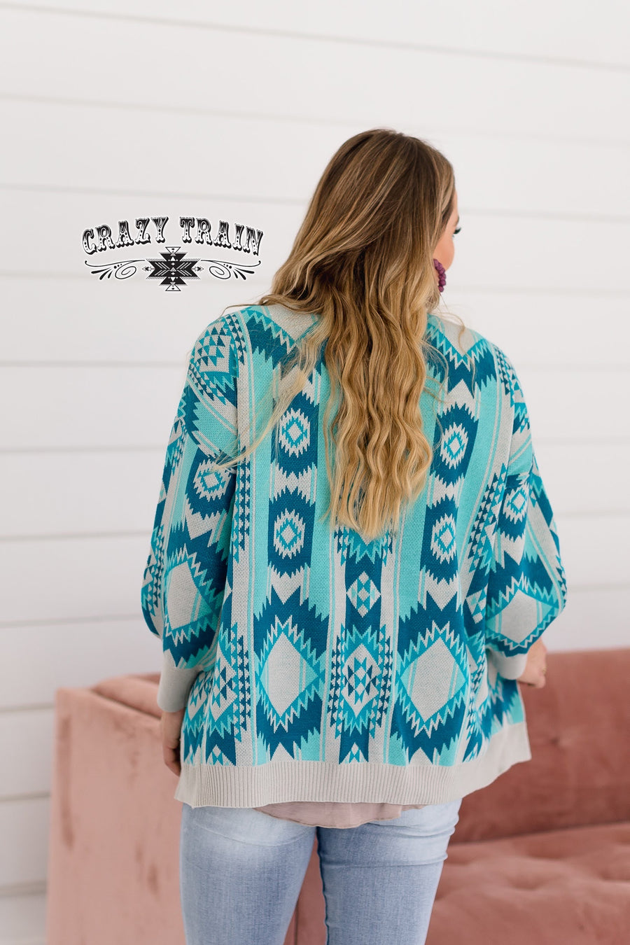 Rio Rancho Aztec Cardigan Sweater